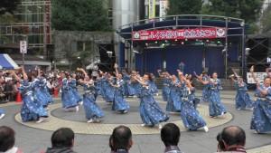 「第16回 東京よさこい」~10月10日:前夜祭:池袋西口公園(下)~(2)6