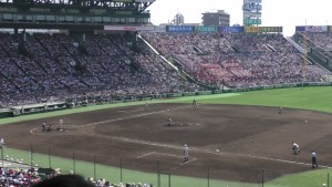 「第97回全国高校野球選手権大会」を見に行ってきました!(12)~第3日:第1試合「早稲田実VS今治西」(下)~(17)