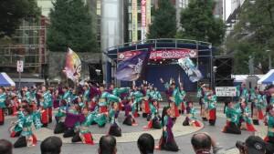 「第16回 東京よさこい」~10月10日:前夜祭:池袋西口公園(下)~(2)8