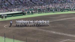 「第97回全国高校野球選手権大会」を見に行ってきました!(12)~第3日:第1試合「早稲田実VS今治西」(下)~(26)