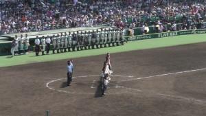 「第97回全国高校野球選手権大会」を見に行ってきました!(12)~第3日:第1試合「早稲田実VS今治西」(下)~(27)