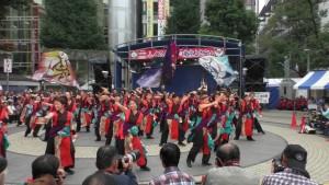 「第16回 東京よさこい」~10月10日:前夜祭:池袋西口公園(下)~(2)11