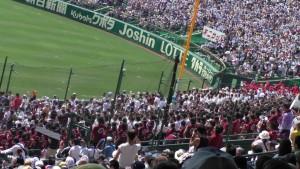 「第97回全国高校野球選手権大会」を見に行ってきました!(12)~第3日:第1試合「早稲田実VS今治西」(下)~(28)