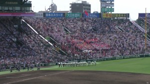 「第97回全国高校野球選手権大会」を見に行ってきました!(12)~第3日:第1試合「早稲田実VS今治西」(下)~(30)