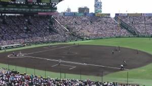 「第97回全国高校野球選手権大会」を見に行ってきました!(13)~第3日:第2試合「敦賀気比VS明徳義塾」(上)~(7)