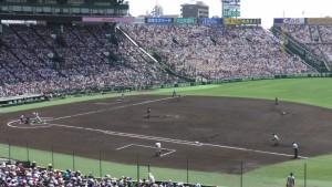 「第97回全国高校野球選手権大会」を見に行ってきました!(13)~第3日:第2試合「敦賀気比VS明徳義塾」(上)~(12)