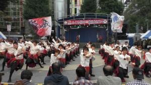 「第16回 東京よさこい」~10月10日:前夜祭:池袋西口公園(上)~(1)20