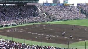 「第97回全国高校野球選手権大会」を見に行ってきました!(13)~第3日:第2試合「敦賀気比VS明徳義塾」(上)~(17)