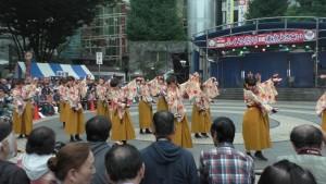 「第16回 東京よさこい」~10月10日:前夜祭:池袋西口公園(上)~(1)1