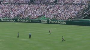 「第97回全国高校野球選手権大会」を見に行ってきました!(13)~第3日:第2試合「敦賀気比VS明徳義塾」(下)~(2)