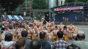 「第16回 東京よさこい」~10月10日:前夜祭:池袋西口公園(上)~(1)3