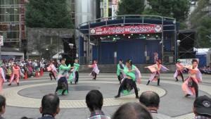 「第16回 東京よさこい」~10月10日:前夜祭:池袋西口公園(上)~(1)4