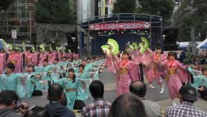 「第16回 東京よさこい」~10月10日:前夜祭:池袋西口公園(上)~(1)7
