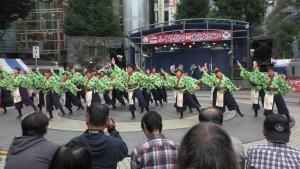「第16回 東京よさこい」~10月10日:前夜祭:池袋西口公園(上)~(1)10