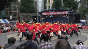 「第16回 東京よさこい」~10月10日:前夜祭:池袋西口公園(上)~(1)12