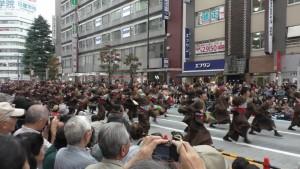 「第16回 東京よさこい」~10月10日:前夜祭:アゼリア通り(上)~(3)3