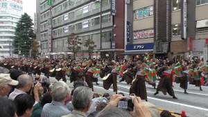 「第16回 東京よさこい」~10月10日:前夜祭:アゼリア通り(上)~(3)4