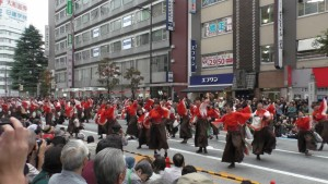 「第16回 東京よさこい」~10月10日:前夜祭:アゼリア通り(上)~(3)5