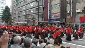「第16回 東京よさこい」~10月10日:前夜祭:アゼリア通り(上)~(3)6