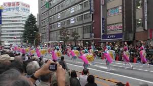 「第16回 東京よさこい」~10月10日:前夜祭:アゼリア通り(下)~(4)2