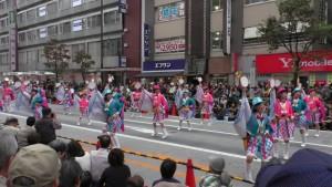 「第16回 東京よさこい」~10月10日:前夜祭:アゼリア通り(下)~(4)3