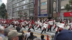 「第16回 東京よさこい」~10月10日:前夜祭:アゼリア通り(上)~(3)7