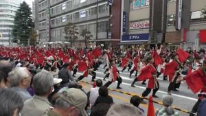 「第16回 東京よさこい」~10月10日:前夜祭:アゼリア通り(上)~(3)8