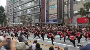 「第16回 東京よさこい」~10月10日:前夜祭:アゼリア通り(上)~(3)9