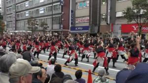 「第16回 東京よさこい」~10月10日:前夜祭:アゼリア通り(上)~(3)10