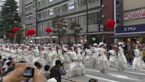 「第16回 東京よさこい」~10月10日:前夜祭:アゼリア通り(下)~(4)6