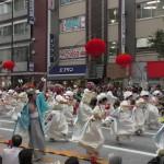よさこいの熱気で盛り上がった! 「第16回 東京よさこい」~10月10日:前夜祭:アゼリア通り(下)~(4)