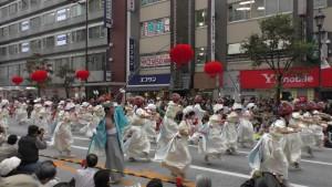 「第16回 東京よさこい」~10月10日:前夜祭:アゼリア通り(下)~(4)7