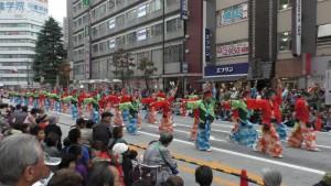 「第16回 東京よさこい」~10月10日:前夜祭:アゼリア通り(下)~(4)8
