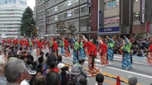 「第16回 東京よさこい」~10月10日:前夜祭:アゼリア通り(下)~(4)9