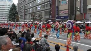 「第16回 東京よさこい」~10月10日:前夜祭:アゼリア通り(下)~(4)10