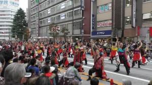 「第16回 東京よさこい」~10月10日:前夜祭:アゼリア通り(上)~(3)11