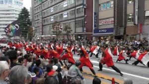 「第16回 東京よさこい」~10月10日:前夜祭:アゼリア通り(上)~(3)12