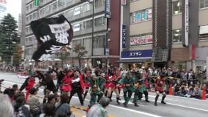 「第16回 東京よさこい」~10月10日:前夜祭:アゼリア通り(下)~(4)12