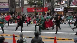 「第16回 東京よさこい」~10月10日:前夜祭:アゼリア通り(下)~(4)13