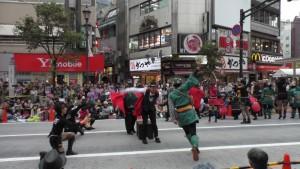 「第16回 東京よさこい」~10月10日:前夜祭:アゼリア通り(下)~(4)14