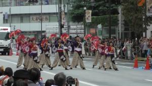 「第16回 東京よさこい」~10月10日:前夜祭:アゼリア通り(下)~(4)17