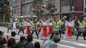「第16回 東京よさこい」~10月10日:前夜祭:アゼリア通り(下)~(4)21