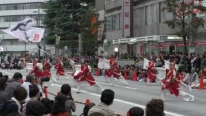 「第16回 東京よさこい」~10月10日:前夜祭:アゼリア通り(上)~(3)15