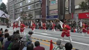 「第16回 東京よさこい」~10月10日:前夜祭:アゼリア通り(上)~(3)16