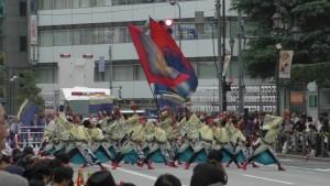 「第16回 東京よさこい」~10月10日:前夜祭:アゼリア通り(下)~(4)22
