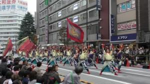 「第16回 東京よさこい」~10月10日:前夜祭:アゼリア通り(下)~(4)24