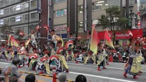「第16回 東京よさこい」~10月10日:前夜祭:アゼリア通り(下)~(4)25