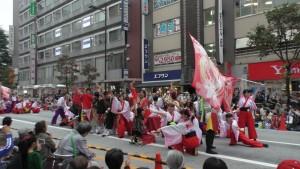 「第16回 東京よさこい」~10月10日:前夜祭:アゼリア通り(上)~(3)22