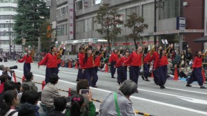 「第16回 東京よさこい」~10月10日:前夜祭:アゼリア通り(上)~(3)24