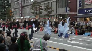 「第16回 東京よさこい」~10月10日:前夜祭:アゼリア通り(下)~(4)1